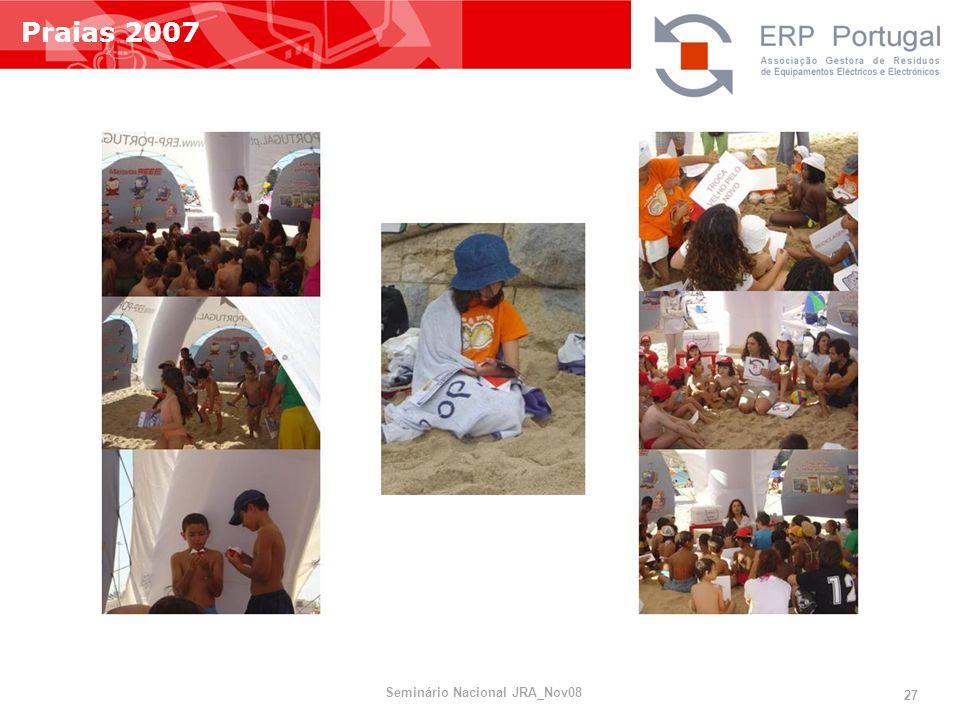 Praias 2007 Seminário Nacional JRA_Nov08 27