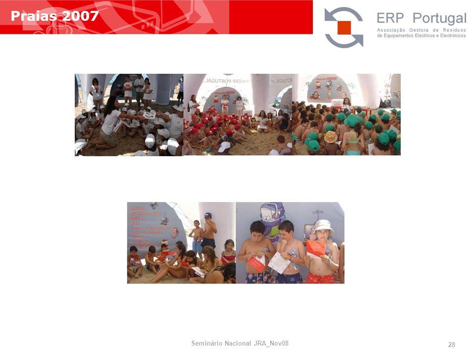 Praias 2007 Seminário Nacional JRA_Nov08 28