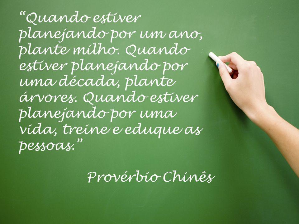 | © Copyright José Ricardo Noronha 2013 – www.josericardonoronha.com.br 17 Quando estiver planejando por um ano, plante milho. Quando estiver planejan