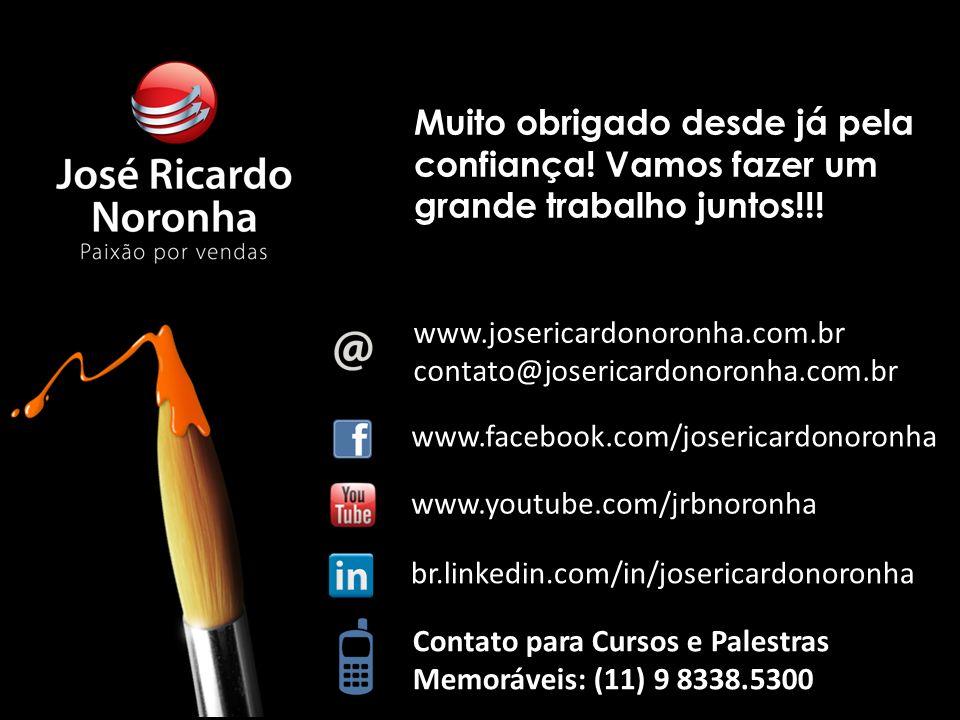 | © Copyright José Ricardo Noronha 2013 – www.josericardonoronha.com.br 20 www.facebook.com/josericardonoronha Contato para Cursos e Palestras Memoráv