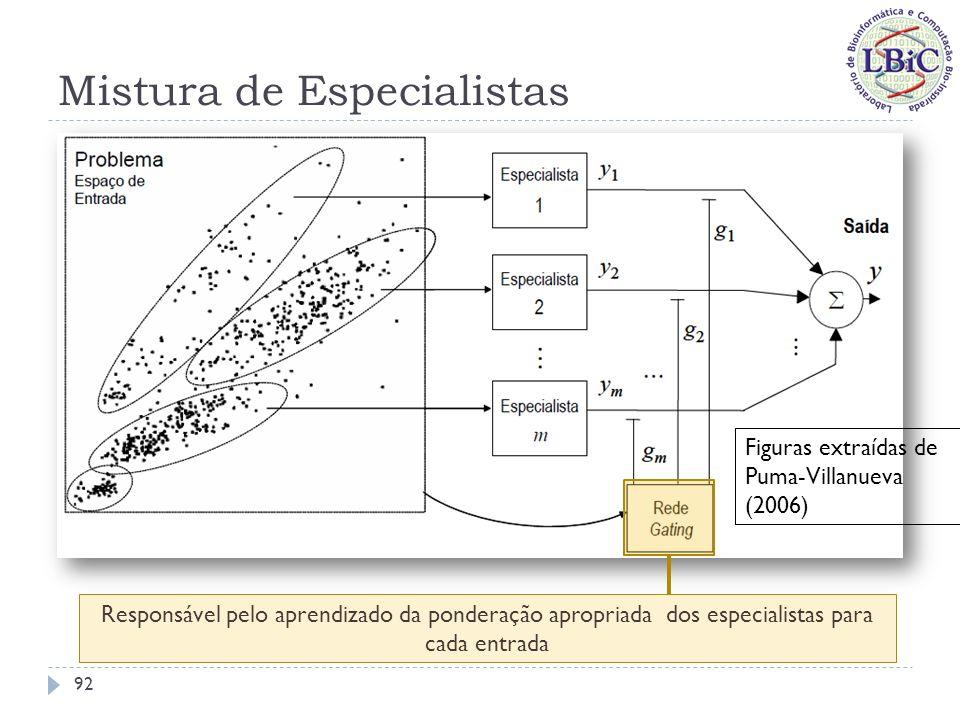 Mistura de Especialistas 93 Figuras extraídas de Lima (2004)