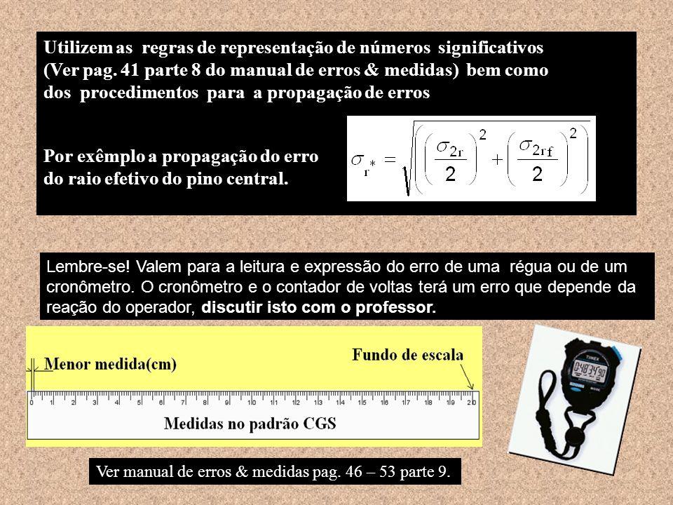 Utilizem as regras de representação de números significativos (Ver pag.