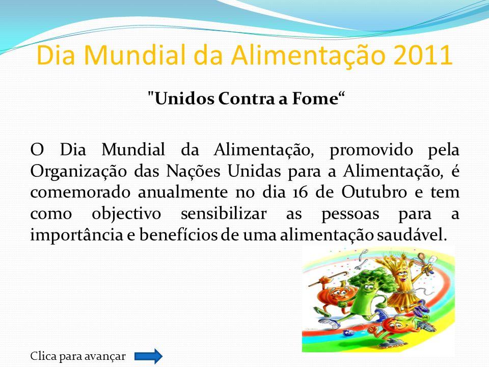 Dia Mundial da Alimentação 2011