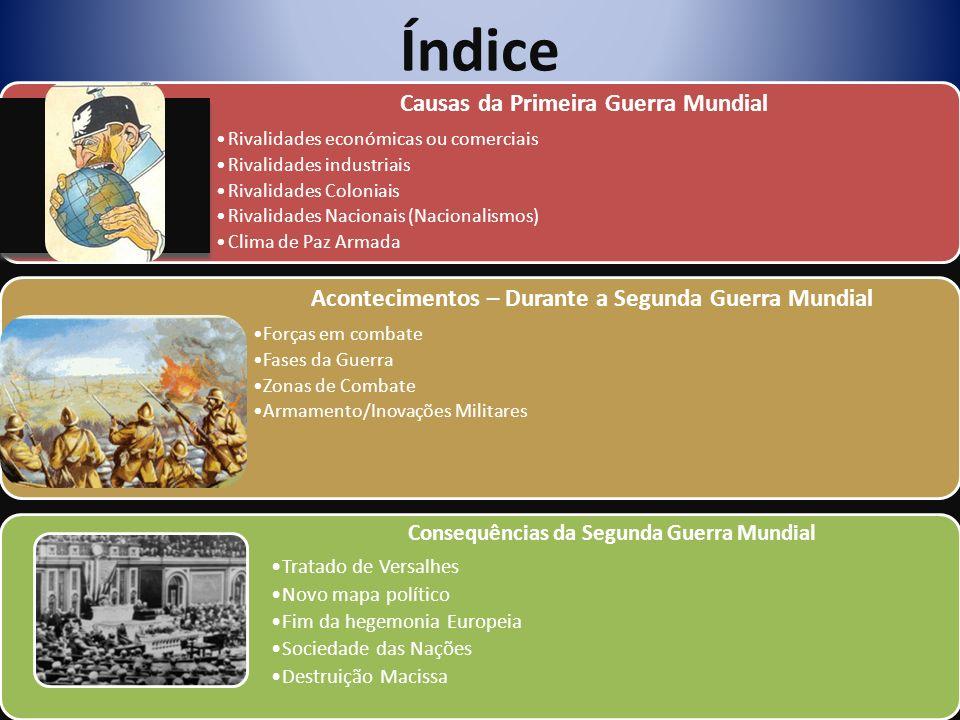 Rivalidades Económicas e Comerciais P.20 e doc. 3 da p.