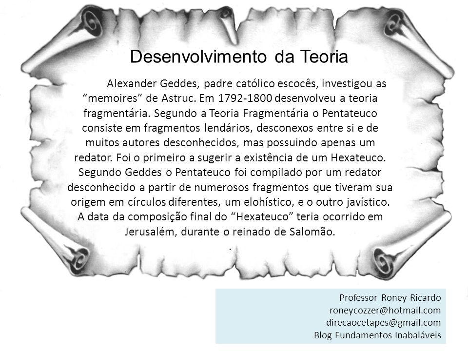 Avaliação Crítica da Teoria 3.Aceitar a teoria JEDP anula a credibilidade do Pentateuco.
