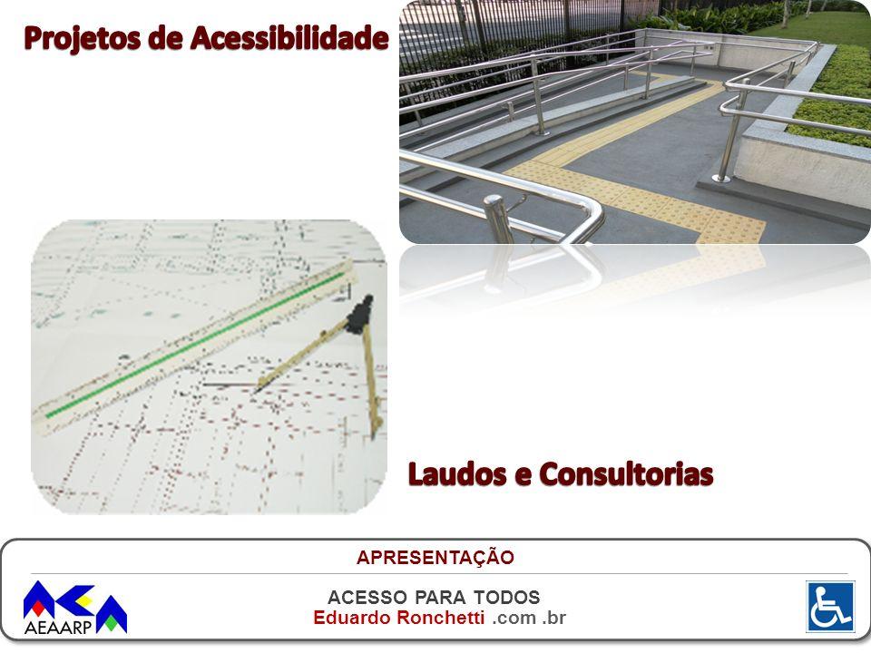 ACESSO PARA TODOS Eduardo Ronchetti.com.br O QUE ADAPTAR - ACESSOS