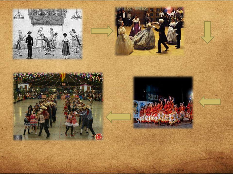 Fogos de artifícios – CHINA Dança de fitas – ESPANHA E PORTUGAL ESTAS E OUTRAS INFLUÊNCIAS MISTURADAS ÀS CULTURAS AFRICANAS RESULTARAM NO QUE HOJE CONHECEMOS COMO FESTAS JUNINAS BRASILEIRAS