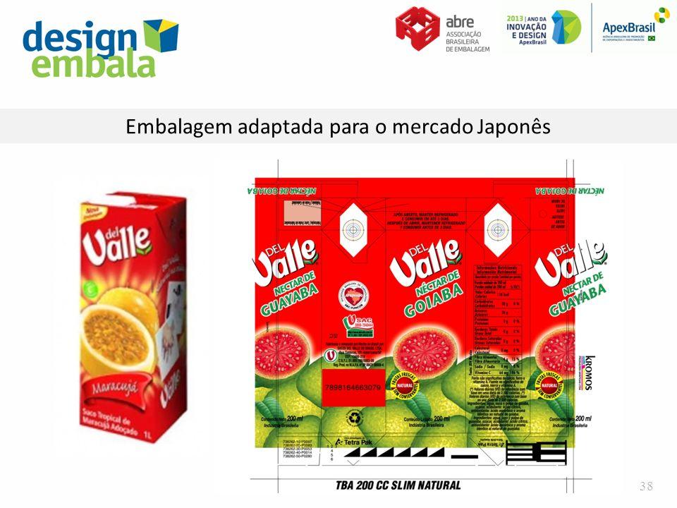 Embalagem adaptada para o mercado Japonês 38
