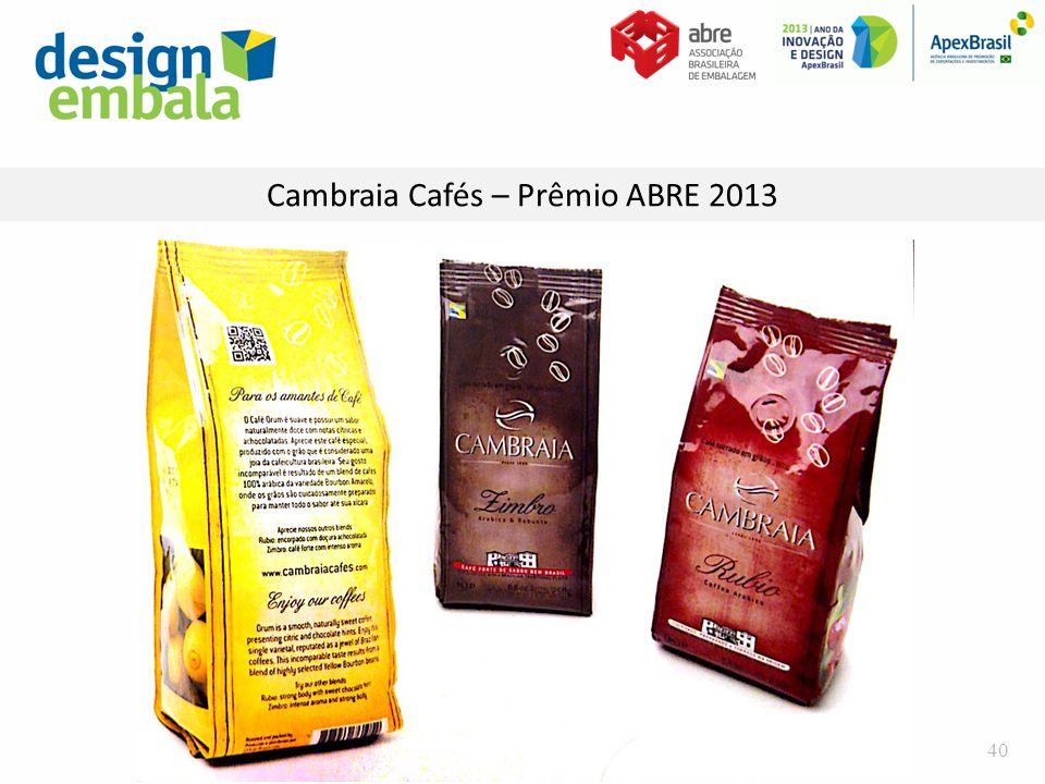Cambraia Cafés – Prêmio ABRE 2013 40