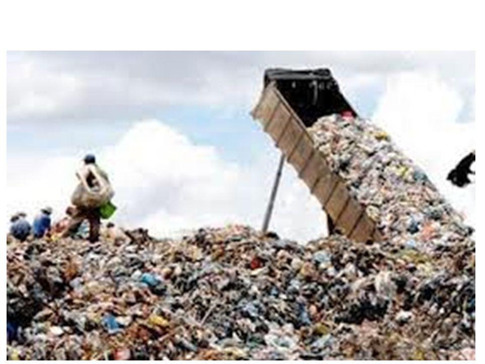 Cada dia são descartados dois milhões de toneladas de lixo domiciliar no mundo. Equivale a dez montanhas como o Pão de Açúcar Por ano são devastadas 1
