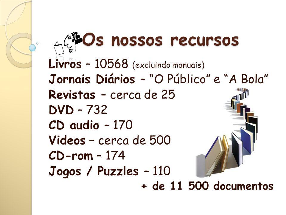 A BE da ESQM - É membro da Rede de Bibliotecas Escolares, desde1999.
