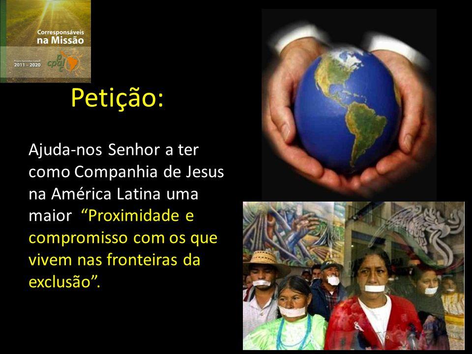 EXAME Que sentimentos me provoca orar do ponto de vista da fé esta Primeira Prioridade do Projeto Apostólico Comum da CPAL.