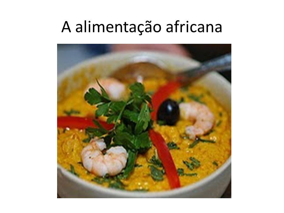 A alimentação africana