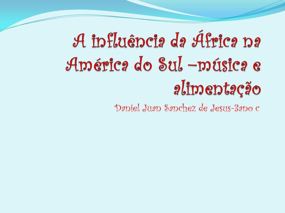 I NSTRUMENTOS AFRICANOS