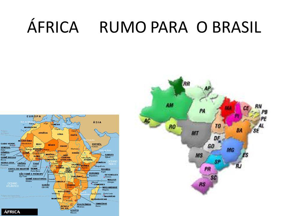 A influência da África na América do Sul - música e alimentação Profª. VANESSA Luiza Parolini 3ºc