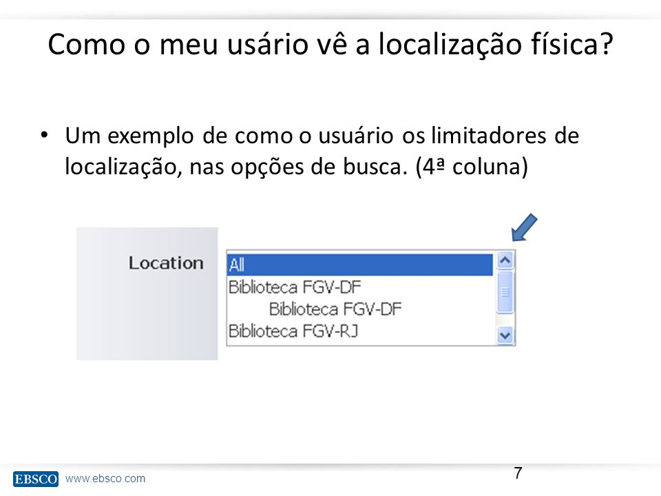 www.ebsco.com Como ela deve ser elaborada.Em um documento excel.