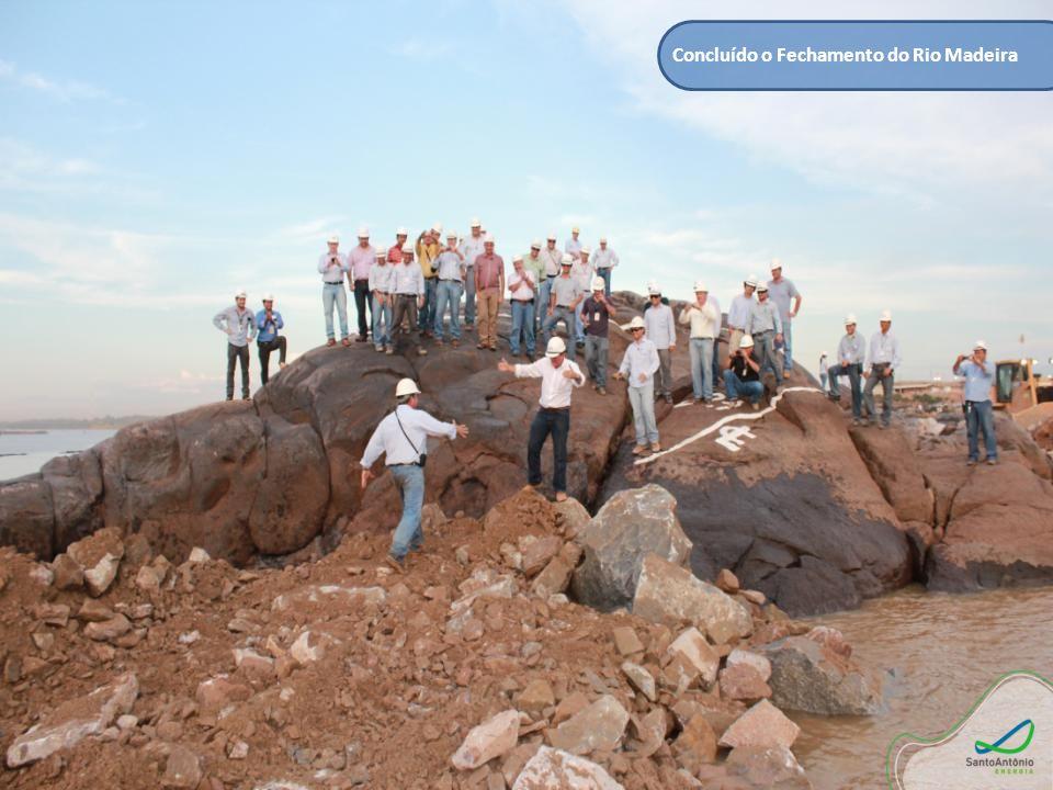 Concluído o Fechamento do Rio Madeira