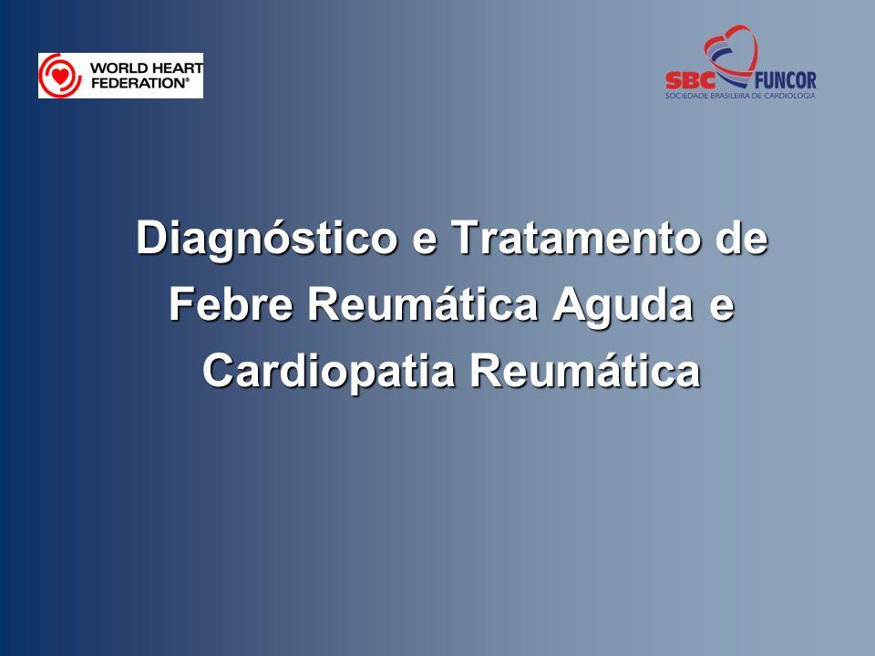 O objetivo desta apresentação é embasar o plano de treinamento de profissionais da área da saúde e de outros envolvidos no diagnóstico e no tratamento da febre reumática aguda e da doença cardíaca reumática.