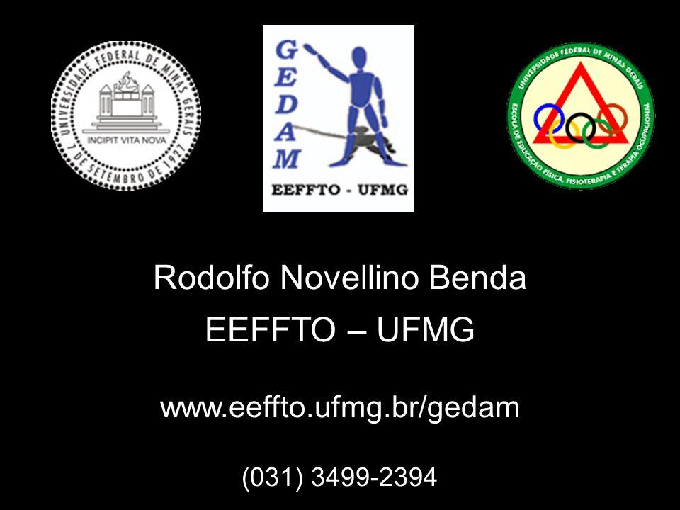 Rodolfo Novellino Benda EEFFTO – UFMG www.eeffto.ufmg.br/gedam (031) 3499-2394