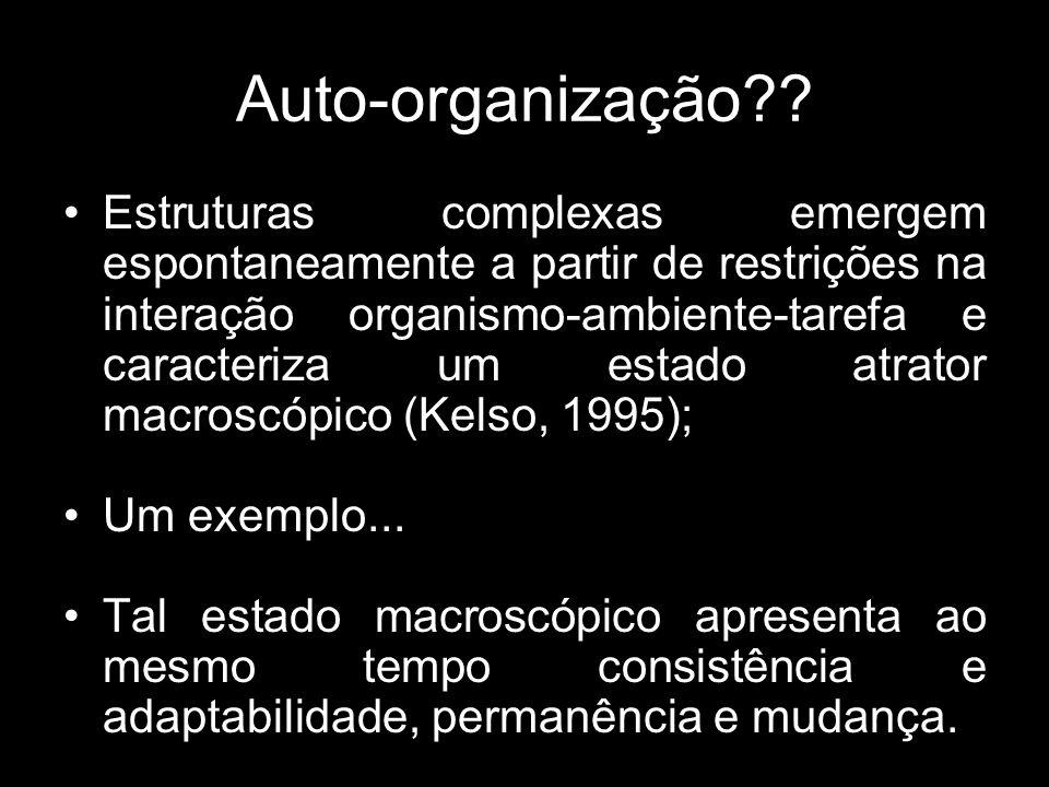 Auto-organização?.