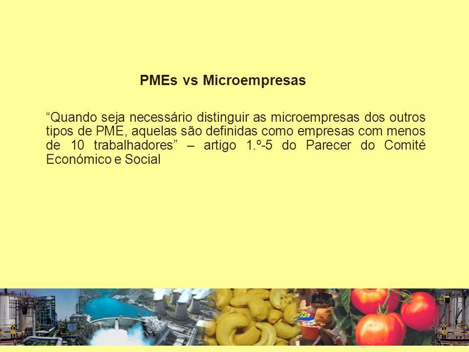 Critério de PME Moçambicana PME Moçambicana – escolha do critério da territorialidade em detrimento do critério da nacionalidade dos sócios A empresa que no registo do Direito da PI declara ter sede no território da República de Moçambique, independentemente da nacionalidade dos detentores do capital social