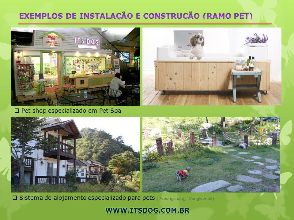 Pet shop especializado em Pet Spa Sistema de alojamento especializado para pets (Pyeongchang, Gangwondo)