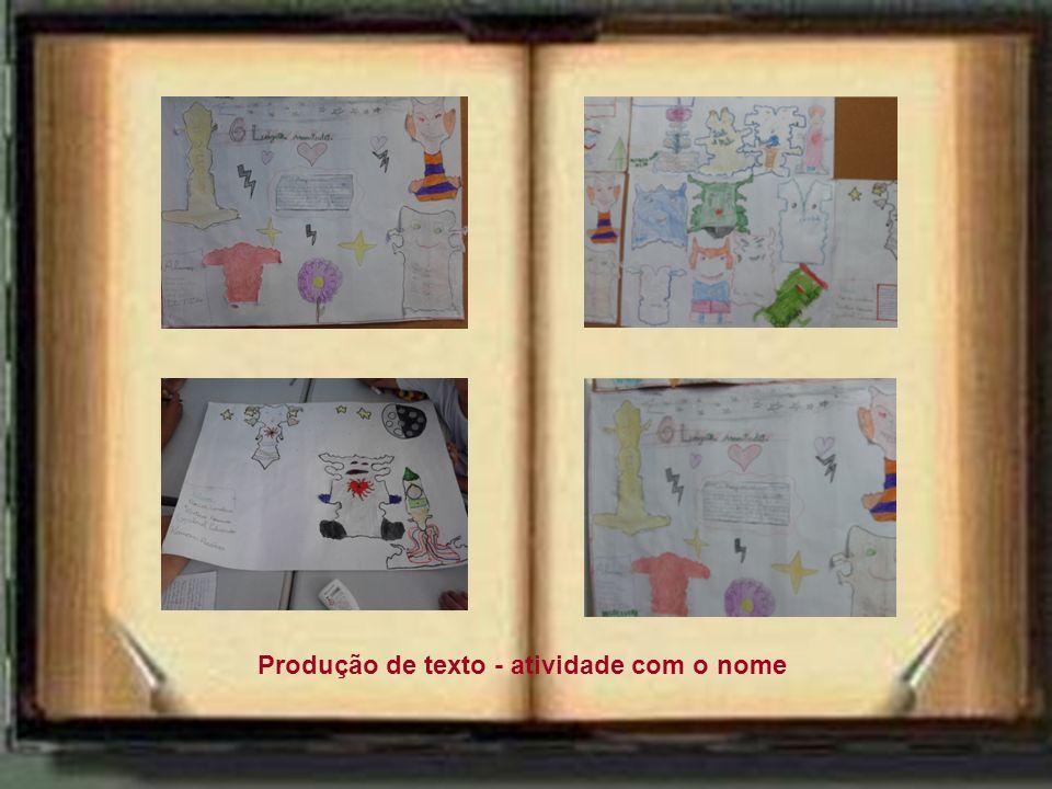 Criando outras histórias... História em quadrinhos História muda Produção de texto - atividade com o nome