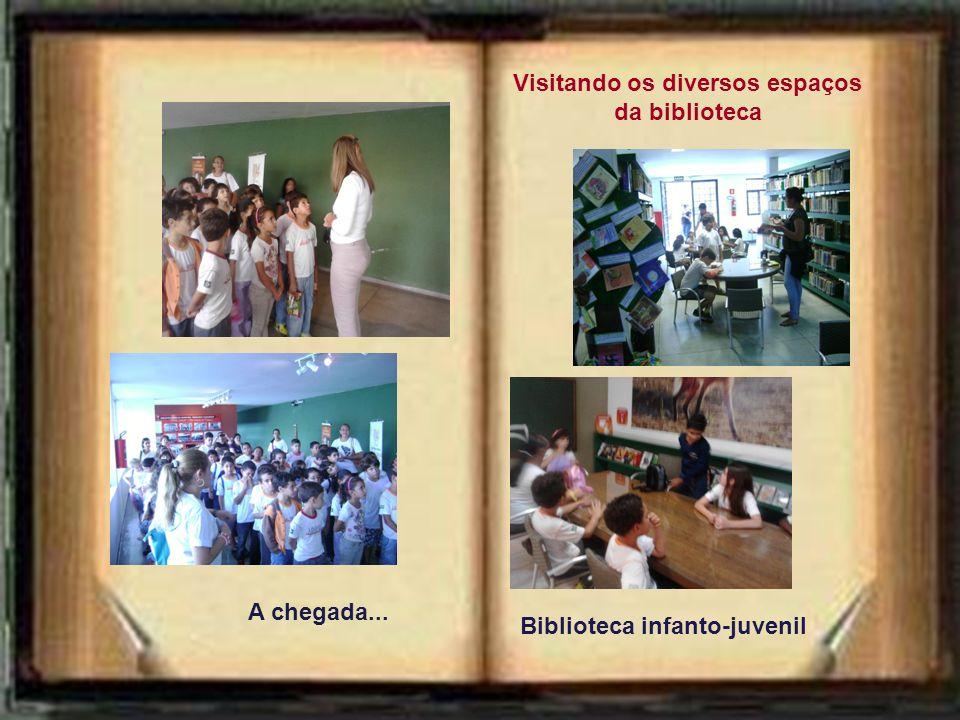 Atividades anteriores à visita Discussão sobre a importância da Biblioteca como ambiente público de leitura e de pesquisa. Saída da escola