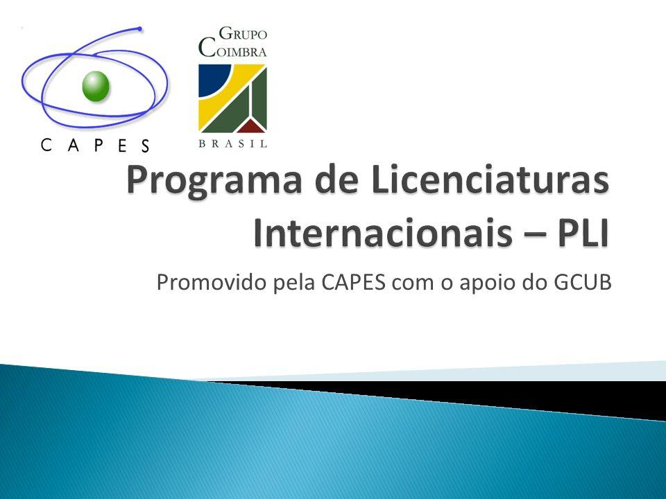 Promovido pela CAPES com o apoio do GCUB