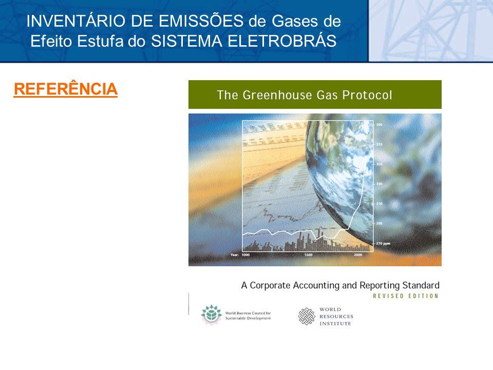 INVENTÁRIO DE EMISSÕES de Gases de Efeito Estufa do SISTEMA ELETROBRÁS REFERÊNCIA