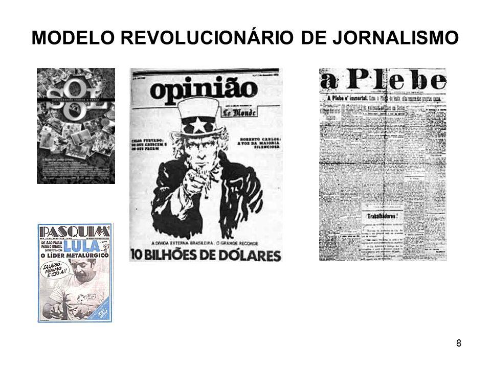 8 MODELO REVOLUCIONÁRIO DE JORNALISMO