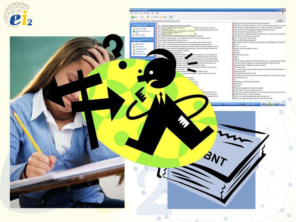 Software para gestão das referências