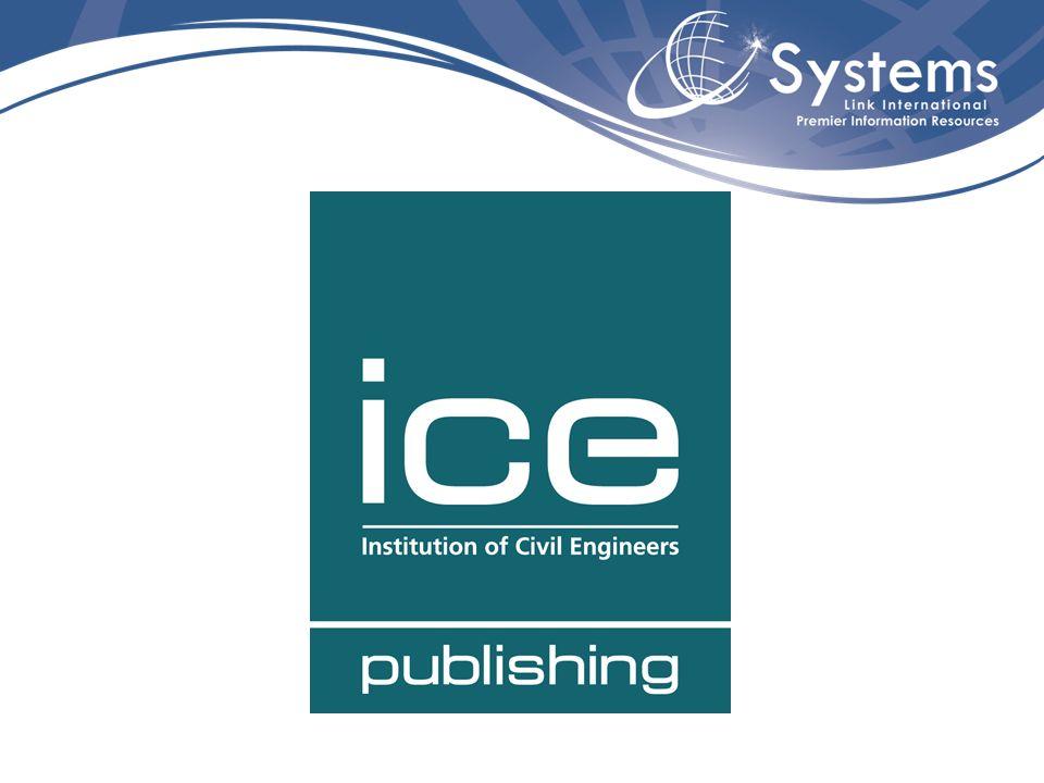 ICE – Institution of Civil Engineers foi fundada em 1818.