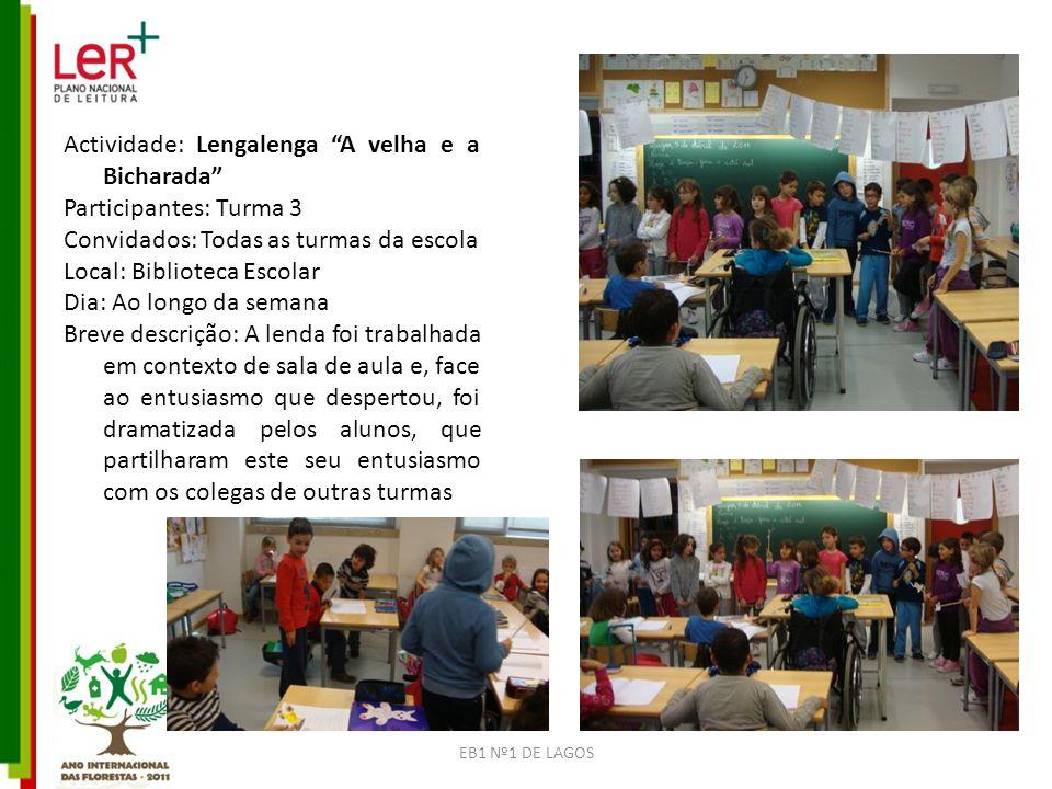 EB1 Nº1 DE LAGOS Nome TRABALHOS DOS ALUNOS