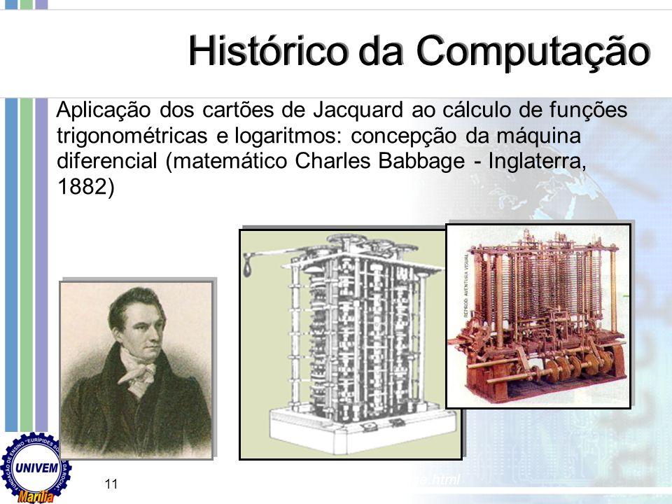 10 Primeiro instrumento moderno de calcular: Máquina de Pascal – somadora construída por Blaise Pascal (físico, matemático e filósofo – França, 1642)