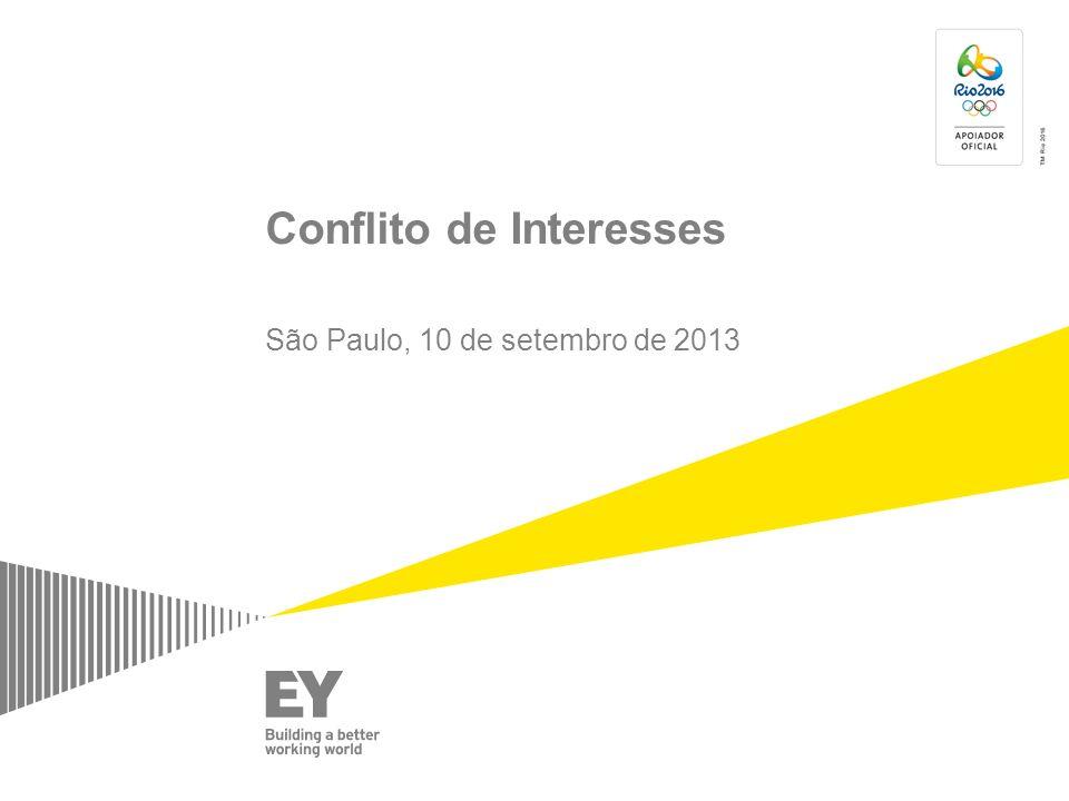 Conflito de Interesses São Paulo, 10 de setembro de 2013