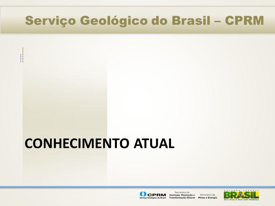Serviço Geológico do Brasil – CPRM CONHECIMENTO ATUAL