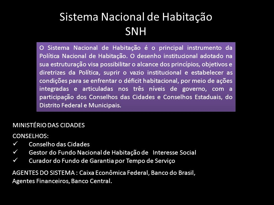 SISTEMA DE INFORMAÇÕES HABITACIONAIS ESTADUAL
