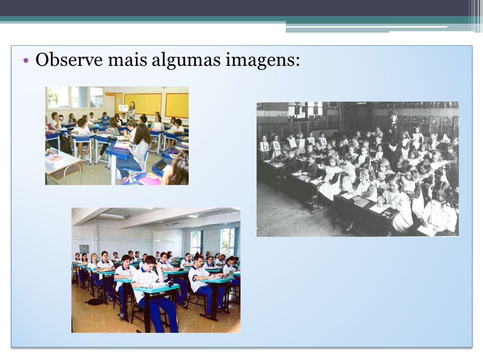 Responda: 1.1.Quais as diferenças encontradas nas imagens.