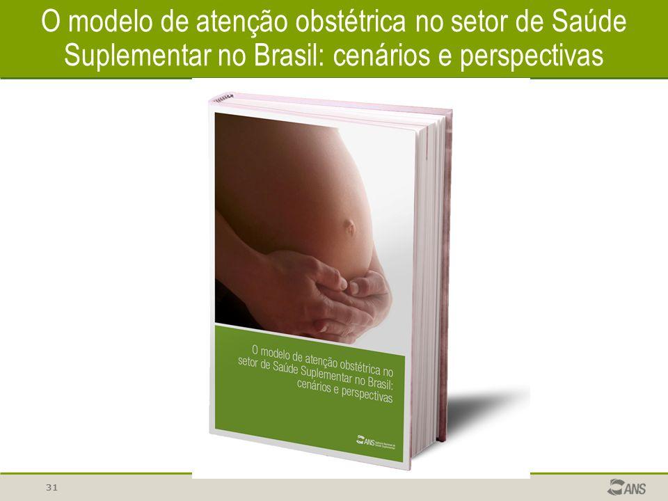 31 O modelo de atenção obstétrica no setor de Saúde Suplementar no Brasil: cenários e perspectivas