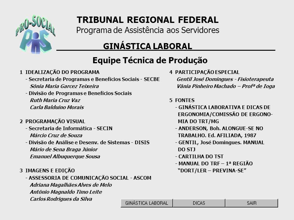 1 IDEALIZAÇÃO DO PROGRAMA - Secretaria de Programas e Benefícios Sociais - SECBE Sônia Maria Garcez Teixeira - Divisão de Programas e Benefícios Socia