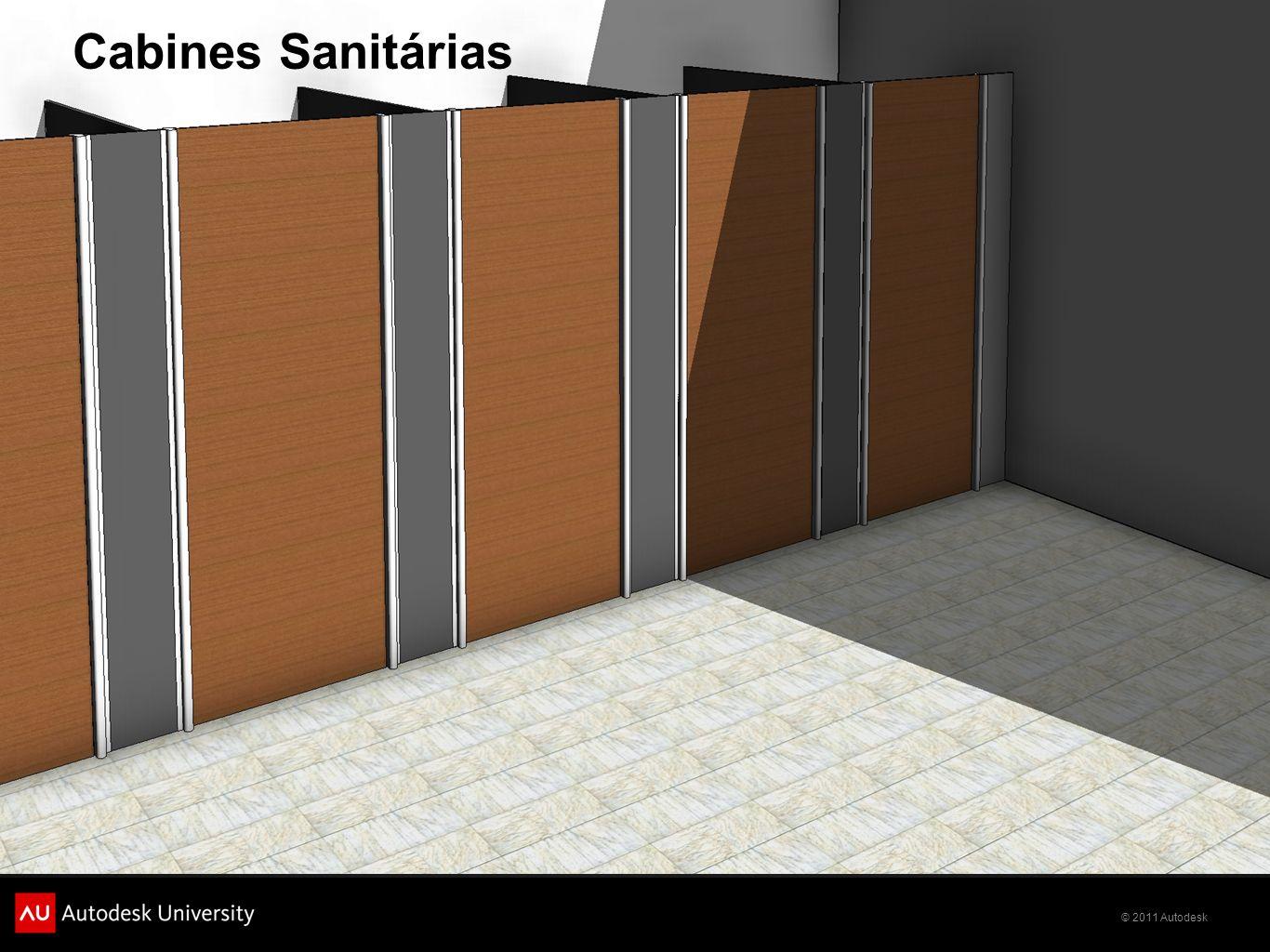 © 2011 Autodesk Cabines Sanitárias