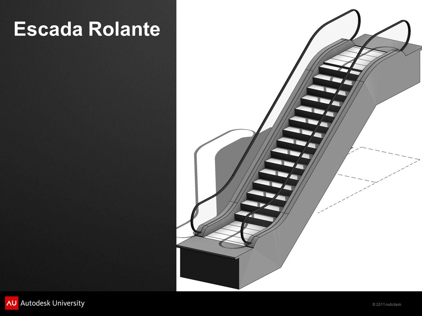 © 2011 Autodesk Escada Rolante