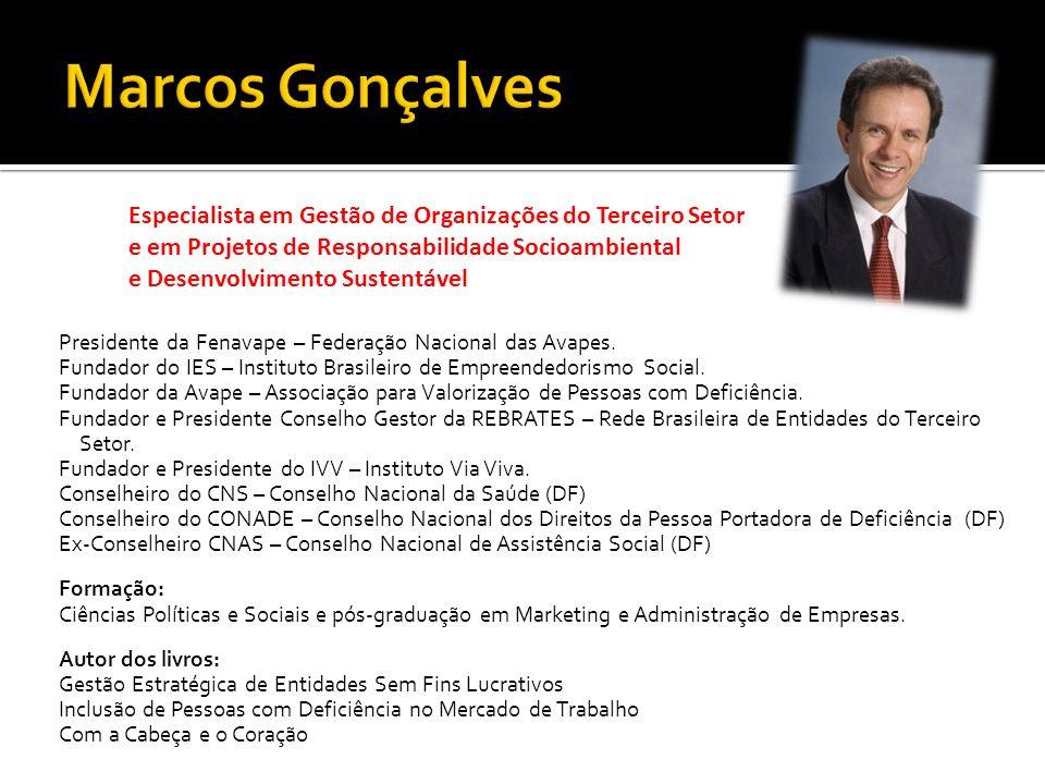 Presidente da Fenavape – Federação Nacional das Avapes.