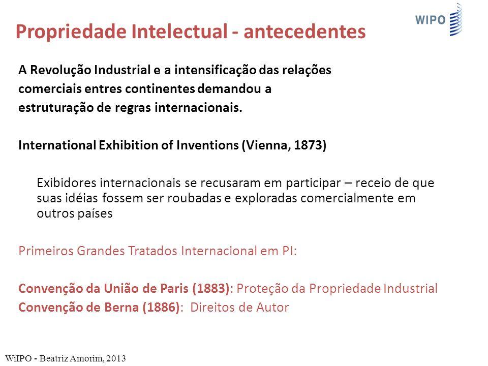 A Revolução Industrial e a intensificação das relações comerciais entres continentes demandou a estruturação de regras internacionais.