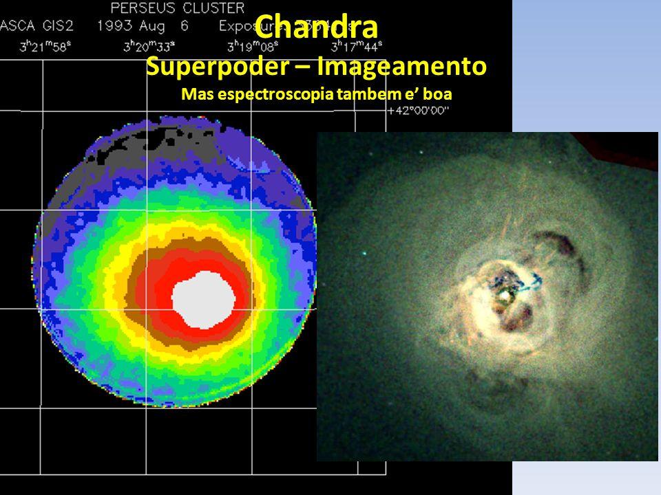XMM-Newton Superpoder – Resolucao espetroscopica Mas imageamento tambem e boa 2.5keV 0.5keV