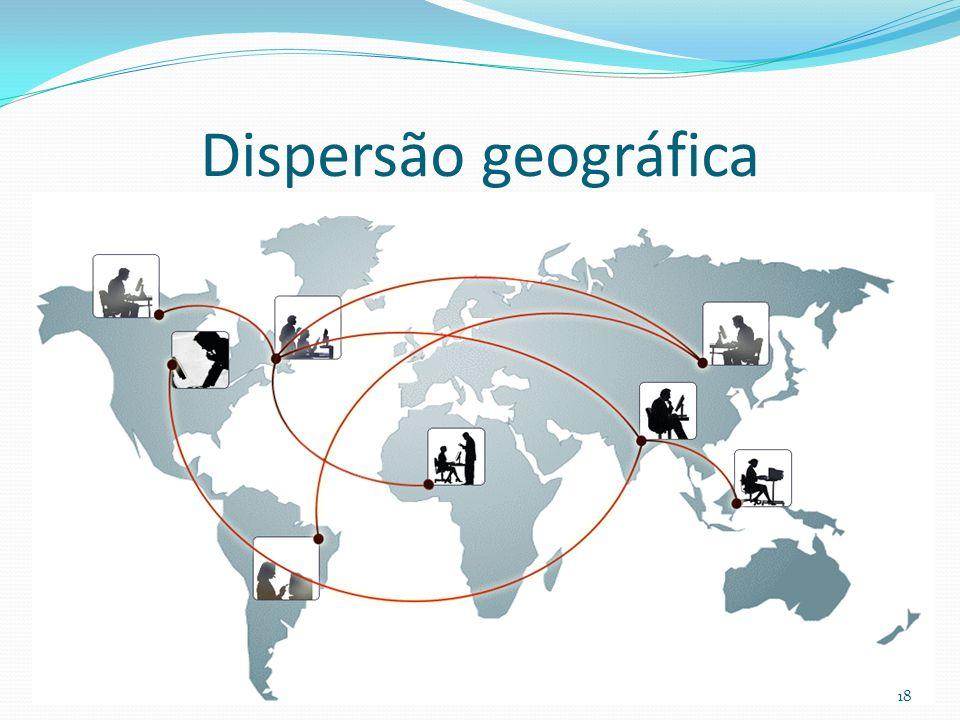 Dispersão geográfica 18