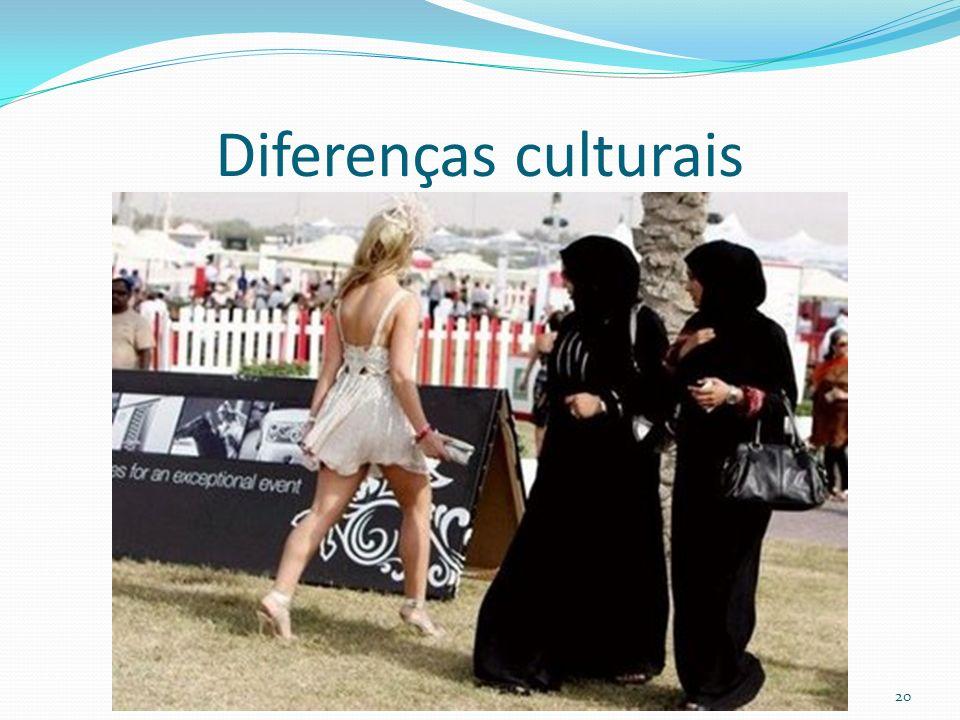 Diferenças culturais 20