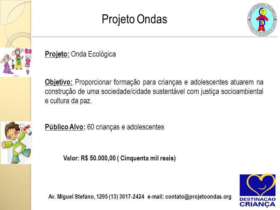 Projeto Ondas
