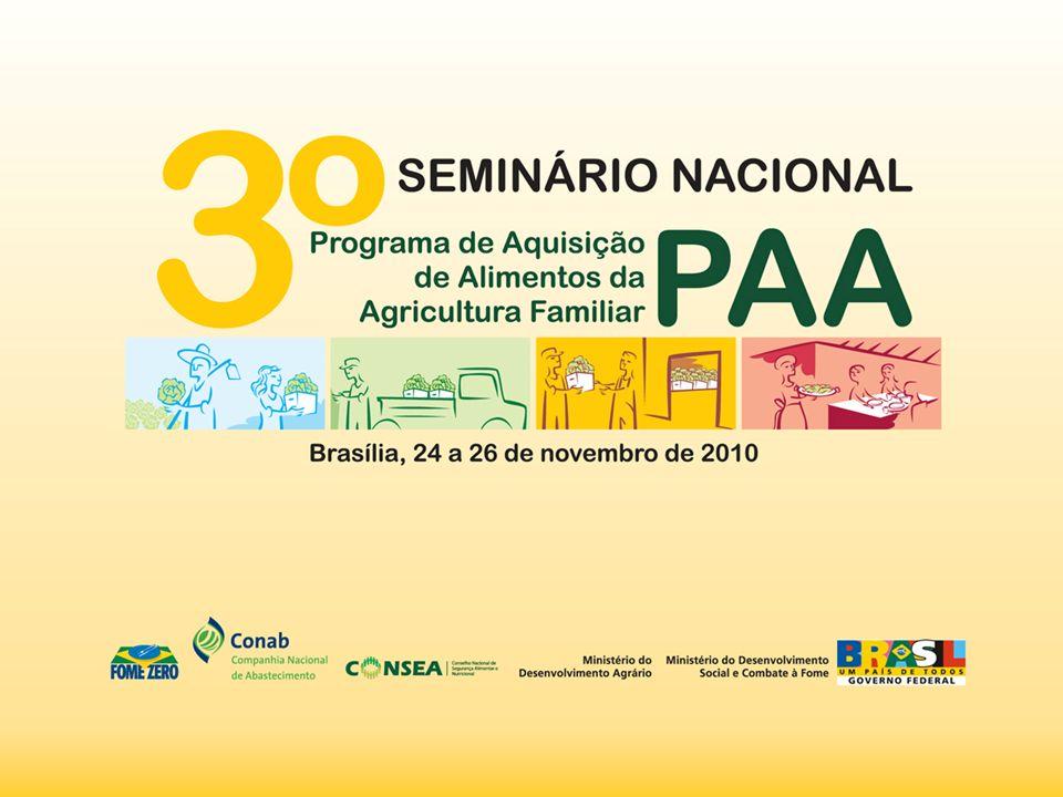 Gestor: Marcos Aurélio da Silva Lima Experiência: Estratégia Territorial de Comercialização dos Produtos da Agricultura Familiar - PNAE Território: Território Vale do Guaribas - Piauí Data: Abril 2010